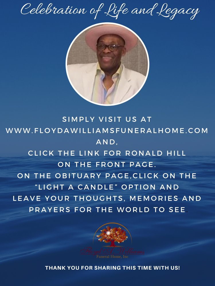 Contributions to the tribute of Ronald Hill   Floyd A  WIlliams Fun